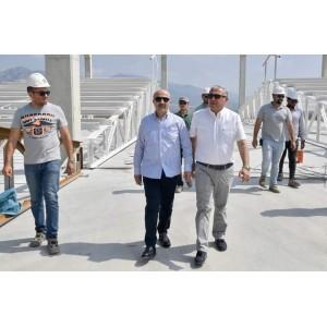 Adana Valimizin Şantiye Zİyareti